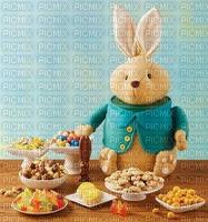 lapin de Pâques biscuits gâterie gourmandises sucrées