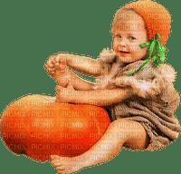 Kaz_Creations Baby Enfant  Child With Pumpkin