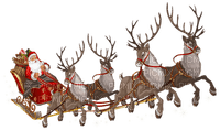Noël.Santa.Santa Claus.sleigh.traîneau.Christmas.Navidad.Trineo.Sled.reindeer.rennes.Renos.Victoriabea