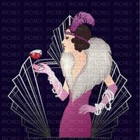 Art Deco woman bp