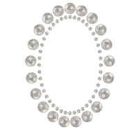 cadre frame perles pearl