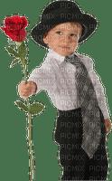 enfant rose boy rose