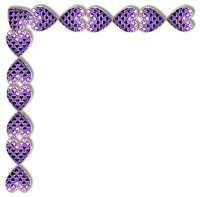 Cadre.Frame.corner.purple.deco.Victoriabea