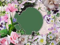 cadre,frame,roses,vintage,cercle deko,tube,scrapbooking Pelageya