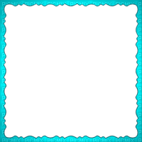 frame teal turquoise