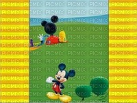 image encre paysage la nature Mickey Disney effet edited by me