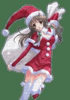 Kaz_Creations Christmas Anime Manga Girl
