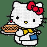 Hello kitty cuisine gâteau tarte cuisinière pâtissière pâtissier Debutante