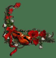 Musical Ornament.Violin.Red.Victoriabea