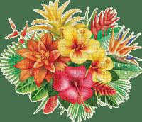 tropical flowers deco fleur 🌺🌺