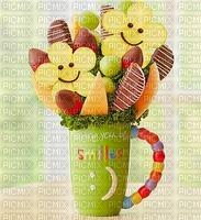 image encre tasse frais fruit bouquet