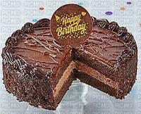Joyeux anniversaire Gâteau au chocolat