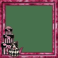 frame cadre rahmen vintage pink cat gift