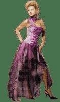 kvinna--woman--purple--lila