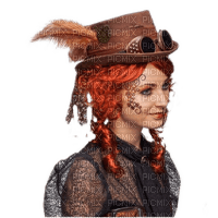 steampunk woman femme