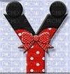 image encre lettre Y Minnie Disney edited by me