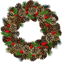 CHRISTMAS_ Christmas wreaths_NOËL_couronne_BlueDREAM 70