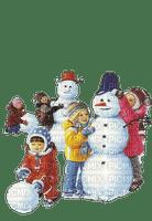 Winter.hiver.Snowman.Enfants.children.Niños.neige.Bonhomme.Invierno.nieve.Victoriabea
