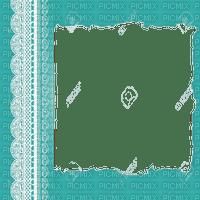 turquoise frame cadre