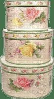 Box Beige Rose Green - Bogusia