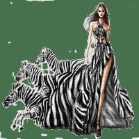 woman zebra dress femme zebre robe🦓🦓