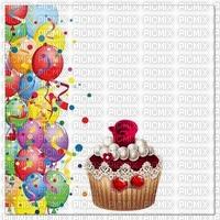 multicolore image encre gâteau pâtisserie bon anniversaire mariage ballons cadre fleur rose vert jaune  edited by me