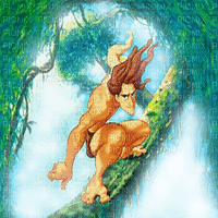 TARZAN BG movie Disney TRANSPARENT  fond