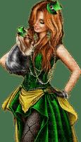 femme,fashion,fille,visage,deko,tube, GIF, animation, scrapbooking, jour de St Patrick,adam64