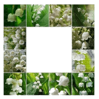lily of the valley frame ´muguet cadre