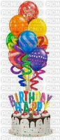 image ink happy birthday  cake balloons edited by me