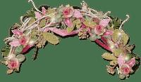 pink-flower-half arch-deco-minou52