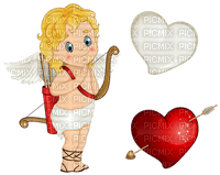 Kaz_Creations Cupid Love Heart Valentine Valentines