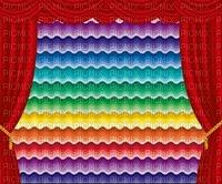 multicolore art image vagues  couleur rideaux kaléidoscope  effet encre edited by me