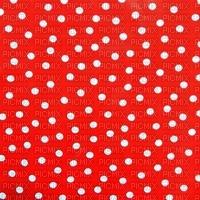 Fond Pois rouges et blanc