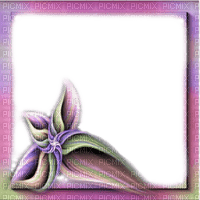 frame fantasy flower  cadre fleur fantaisie