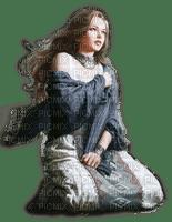 Rena Girl Mädchen blue Vintage
