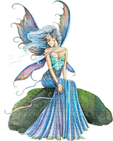 fairy blue fee bleu