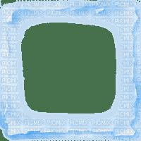 Torn Paper Transparent Frame~Blue©Esme4eva2015