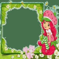 strawberry shortcake charlotte aux fraise cadre
