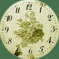 Clock-Parts, Clock-Face, Clocks, Deco, Decoration, Flower, Flowers, Yellow - Jitter.Bug.Girl