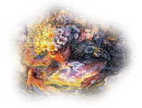 josephine wall artwork woman femme orange