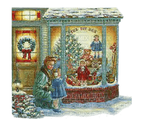 Kaz_Creations Paysage Scenery Christmas Mother Child