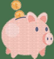 Tirelire cochon piggy bank pièces coins