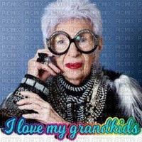 image encre couleur texture effet femme visage I love my grandkids edited by me