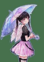 Rena Anime Engel Angel Umbrella Schirm
