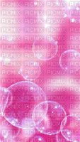 Fond bulle rose pink background bubble bulles bg