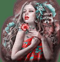 dolceluna pink red fantasy girl