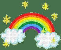 Rainbow arc-en-ciel nuage cloud