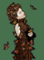 woman autumn femme automne