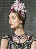 image encre couleur texture femme visage fleurs chapeau mariage princesse edited by me